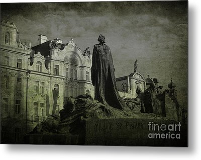 Death In Prague Metal Print by Lee Dos Santos