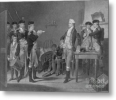 Death Warrant Of Major John Andre, 1780 Metal Print