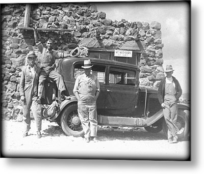 Metal Print featuring the photograph Depression Travlers by Bonfire Photography