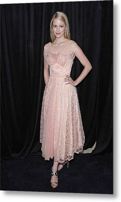 Dianna Agron In Attendance For The 9th Metal Print by Everett