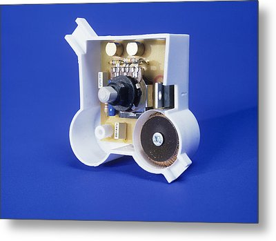 Dimmer Switch Metal Print by Andrew Lambert Photography