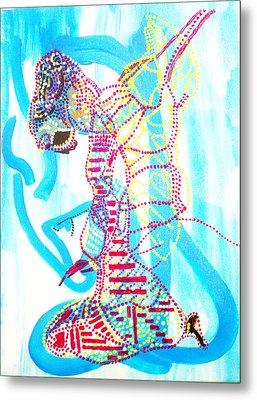 Dinka Angel Bride - South Sudan Metal Print by Gloria Ssali