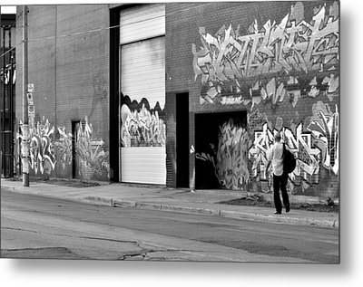 Metal Print featuring the photograph down town Toronto lake shore area  by Puzzles Shum