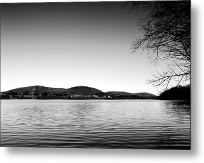 Dryden Lake New York Metal Print by Paul Ge