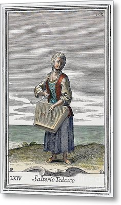 Dulcimer, 1723 Metal Print by Granger