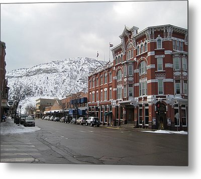 Metal Print featuring the photograph Durango by Bonnie Goedecke