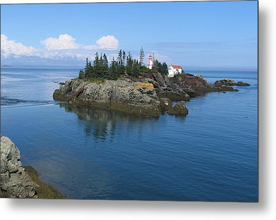 East Quoddy Lighthouse Metal Print by Bob Davis