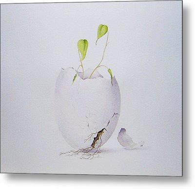 Egg Plant Metal Print
