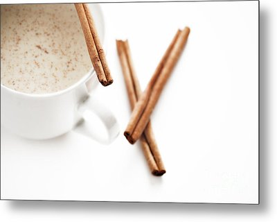Eggnog Metal Print by HD Connelly