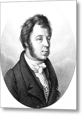 Eilhard Mitscherlich, German Chemist Metal Print by Science Source