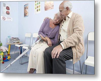 Elderly Patients Metal Print by Adam Gault