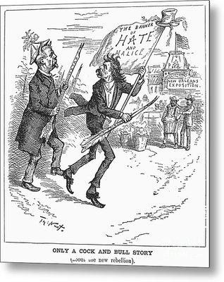Election Cartoon, 1884 Metal Print by Granger
