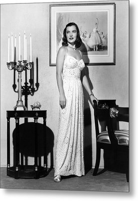 Ella Raines, 1946 Metal Print by Everett