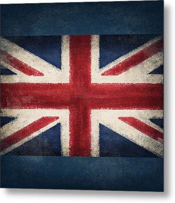 England Flag Metal Print by Setsiri Silapasuwanchai