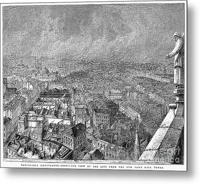 England: Manchester, 1876 Metal Print by Granger