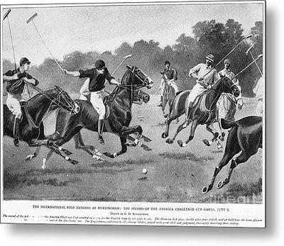 England: Polo, 1902 Metal Print by Granger