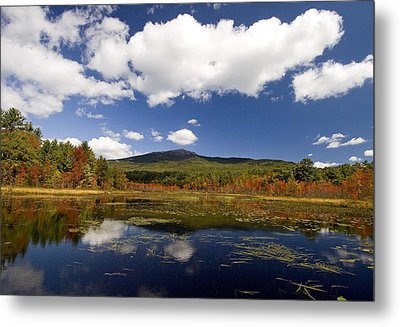 Fall Day At Perkins Pond Metal Print