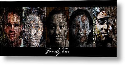 Family Tree Metal Print by Christopher Gaston