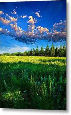 Fields And Dreams Metal Print by Phil Koch