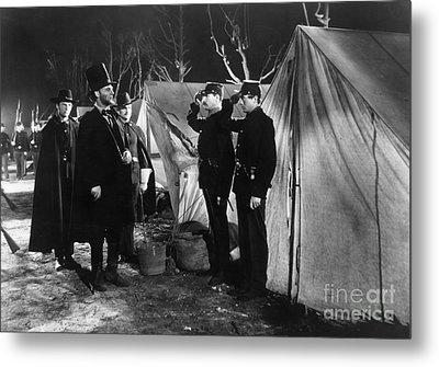 Film Still: Abraham Lincoln Metal Print
