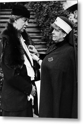 First Lady Eleanor Roosevelt Metal Print by Everett