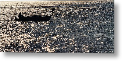 Fisherman Metal Print by Stelios Kleanthous