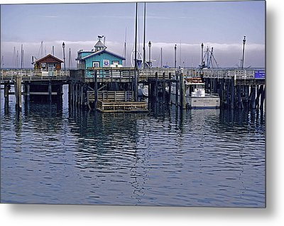 Metal Print featuring the photograph Fishermans Warf Monterey by William Havle