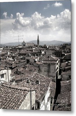 Florence Italy - 02 Metal Print by Gregory Dyer