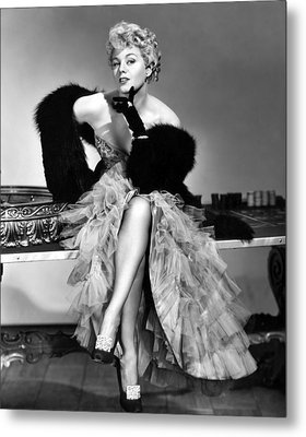 Frenchie, Shelley Winters, 1950 Metal Print by Everett