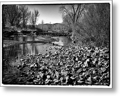 From Under The Bridge Metal Print by David Patterson