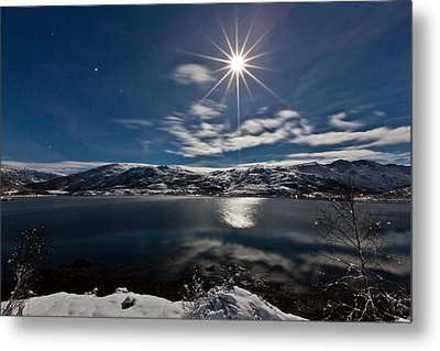 Full Moon Metal Print by Frank Olsen