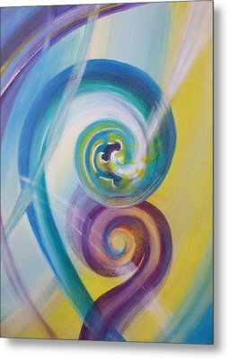 Fusion Metal Print by Reina Cottier
