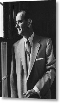 Future President Lyndon Johnson Metal Print by Everett