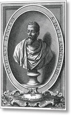 Galileo Galilei, Italian Astronomer Metal Print by Humanities & Social Sciences Librarynew York Public Library