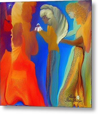 Gathering Of Angels Metal Print by Sherri's Of Palm Springs