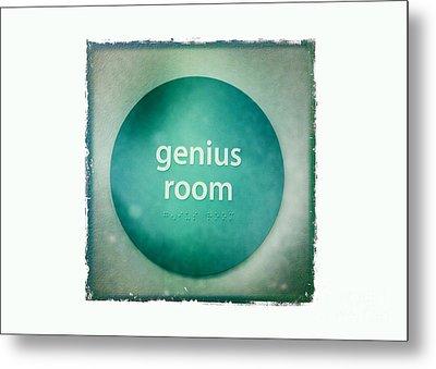 Genius Room Metal Print by Nina Prommer