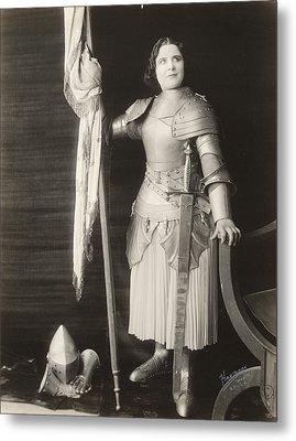 Geraldine Farrar (1882-1967) Metal Print by Granger