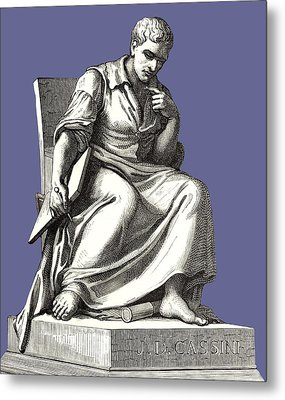 Giovanni Cassini, Italian Astronomer Metal Print by Sheila Terry