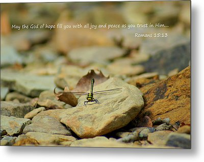 God Of Hope Metal Print by Naturevine Photography