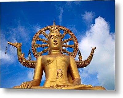 Golden Buddha Metal Print by Adrian Evans