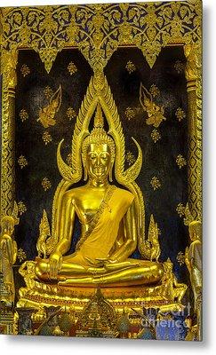 Golden Buddha  Metal Print by Anek Suwannaphoom