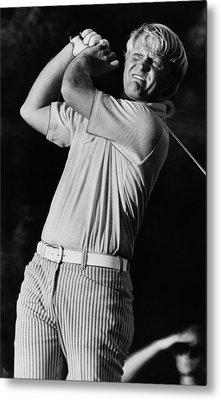 Golf Pro Jack Nicklaus, C. 1970s Metal Print by Everett