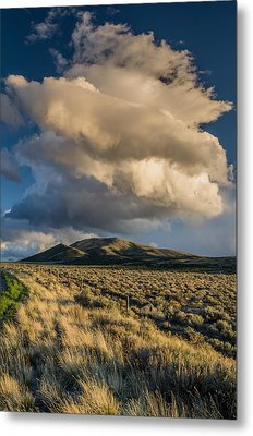 Great Basin Cloud Metal Print by Greg Nyquist