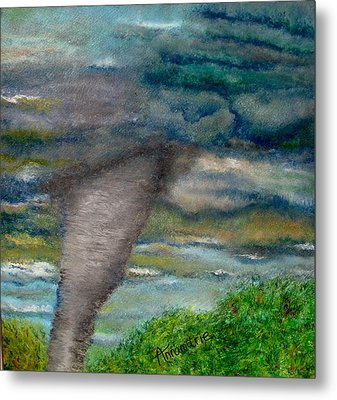 Green Skies Of Tennessee Metal Print