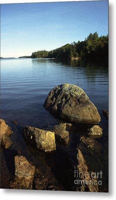 Greenlaw Cove Deer Isle Maine Metal Print by Thomas R Fletcher