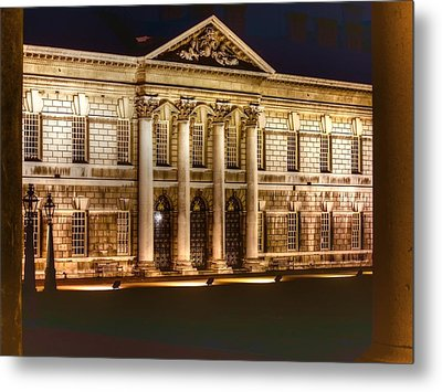 Greenwich Royal Naval College  Metal Print by David French