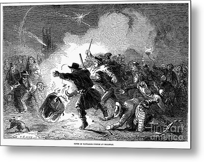 Guy Fawkes Day, 1853 Metal Print by Granger