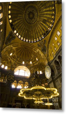 Metal Print featuring the photograph Hagia Sofia by Leslie Leda