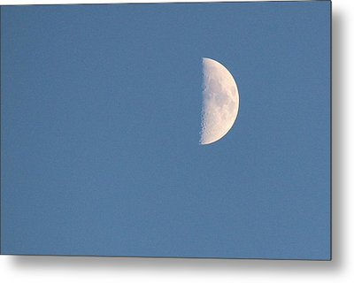 Half Moon Rising Metal Print