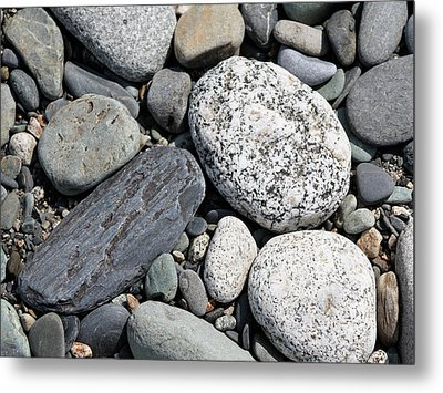 Metal Print featuring the photograph Healing Stones by Cathie Douglas